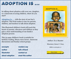 Adoption Is - book about Black American adoption