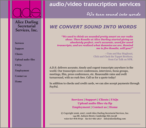 Alice Darling Secretarial Services