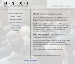 Health and Safety Research, Inc.
