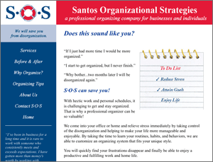 Santos Organizing Strategies