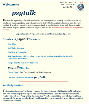 Psytalk - William W. Snow, LISCW